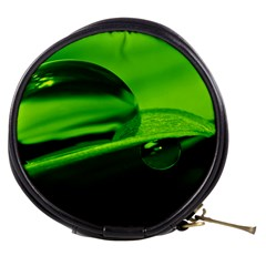 Green Drop Mini Makeup Case by Siebenhuehner