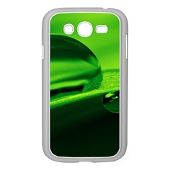 Green Drop Samsung Galaxy Grand Duos I9082 Case (white) by Siebenhuehner