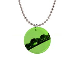 Green Drops Button Necklace by Siebenhuehner