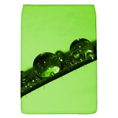 Green Drops Removable Flap Cover (large) by Siebenhuehner