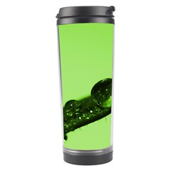 Green Drops Travel Tumbler