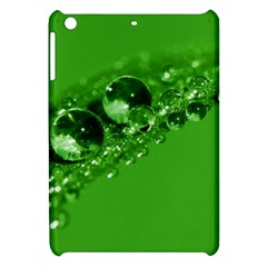 Green Drops Apple Ipad Mini Hardshell Case