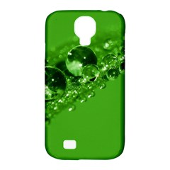 Green Drops Samsung Galaxy S4 Classic Hardshell Case (pc+silicone) by Siebenhuehner
