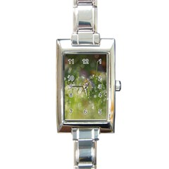 Drops Rectangular Italian Charm Watch