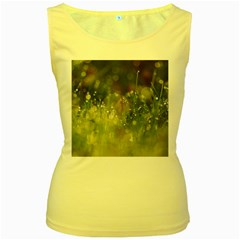 Drops Womens  Tank Top (yellow)