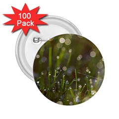 Waterdrops 2 25  Button (100 Pack) by Siebenhuehner