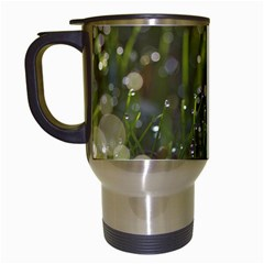 Waterdrops Travel Mug (white)