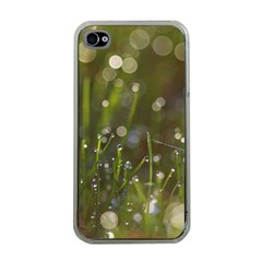 Waterdrops Apple Iphone 4 Case (clear) by Siebenhuehner