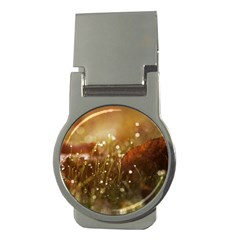 Waterdrops Money Clip (round)