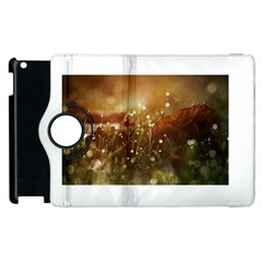 Waterdrops Apple Ipad 2 Flip 360 Case by Siebenhuehner
