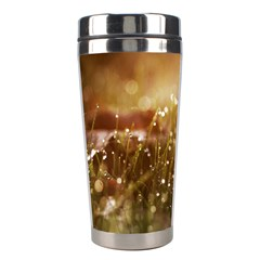 Waterdrops Stainless Steel Travel Tumbler by Siebenhuehner