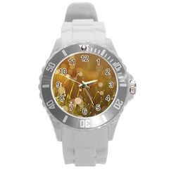 Waterdrops Plastic Sport Watch (large) by Siebenhuehner
