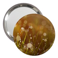 Waterdrops 3  Handbag Mirror by Siebenhuehner