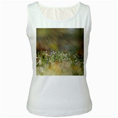 Sundrops Womens  Tank Top (white)