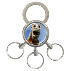 Haflinger  3 Ring Key Chain by Siebenhuehner