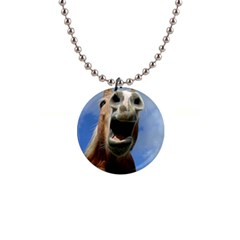 Haflinger  Button Necklace