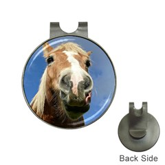 Haflinger  Hat Clip With Golf Ball Marker by Siebenhuehner
