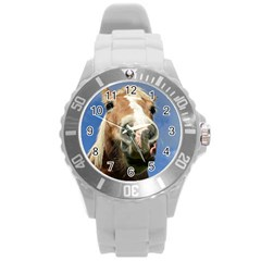 Haflinger  Plastic Sport Watch (large) by Siebenhuehner