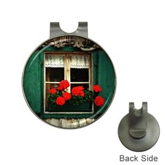 Window Hat Clip With Golf Ball Marker