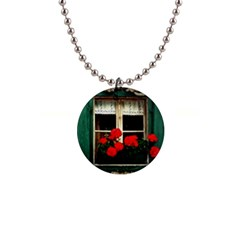 Window Button Necklace by Siebenhuehner