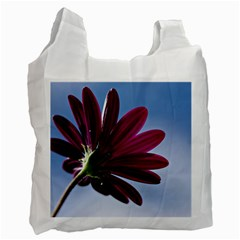 Daisy Recycle Bag (one Side) by Siebenhuehner