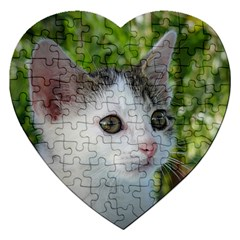 Young Cat Jigsaw Puzzle (heart)