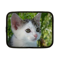 Young Cat Netbook Case (small) by Siebenhuehner