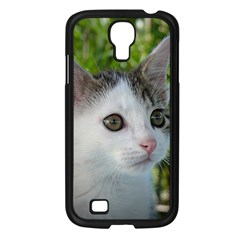 Young Cat Samsung Galaxy S4 I9500/ I9505 Case (black) by Siebenhuehner
