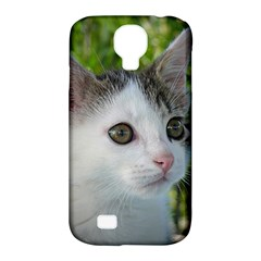 Young Cat Samsung Galaxy S4 Classic Hardshell Case (pc+silicone) by Siebenhuehner