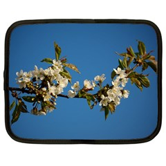 Cherry Blossom Netbook Case (large) by Siebenhuehner