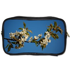 Cherry Blossom Travel Toiletry Bag (two Sides) by Siebenhuehner