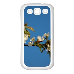 Cherry Blossom Samsung Galaxy S3 Back Case (white) by Siebenhuehner