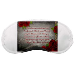 Maggie s Quote Sleeping Mask by AuthorPScott