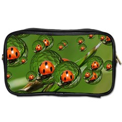 Ladybird Travel Toiletry Bag (one Side) by Siebenhuehner