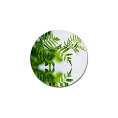 Leafs With Waterreflection Golf Ball Marker 10 Pack by Siebenhuehner