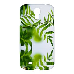 Leafs With Waterreflection Samsung Galaxy S4 I9500/i9505 Hardshell Case by Siebenhuehner