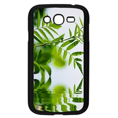 Leafs With Waterreflection Samsung Galaxy Grand Duos I9082 Case (black) by Siebenhuehner