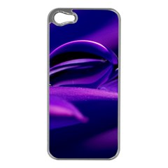 Waterdrop Apple Iphone 5 Case (silver) by Siebenhuehner