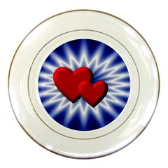 Love Porcelain Display Plate by Siebenhuehner