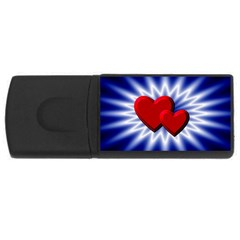 Love 4gb Usb Flash Drive (rectangle) by Siebenhuehner
