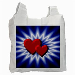 Love Recycle Bag (two Sides) by Siebenhuehner