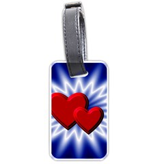 Love Luggage Tag (one Side) by Siebenhuehner