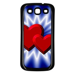 Love Samsung Galaxy S3 Back Case (black) by Siebenhuehner