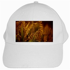 Field White Baseball Cap by Siebenhuehner