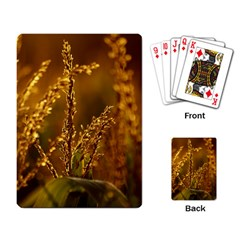 Field Playing Cards Single Design by Siebenhuehner