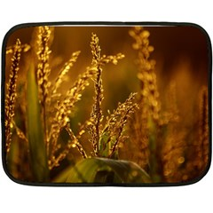 Field Mini Fleece Blanket (two Sided) by Siebenhuehner