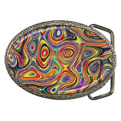 Modern  Belt Buckle (oval) by Siebenhuehner