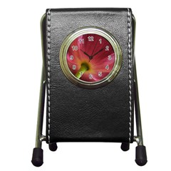 Poppy Stationery Holder Clock by Siebenhuehner