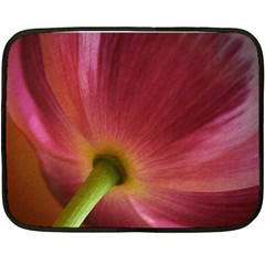 Poppy Mini Fleece Blanket (two Sided) by Siebenhuehner