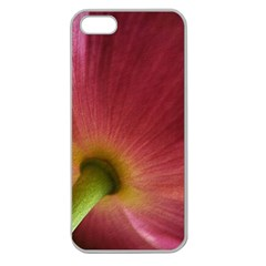 Poppy Apple Seamless Iphone 5 Case (clear) by Siebenhuehner